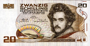 Austrian schilling former currency of Austria until 2002