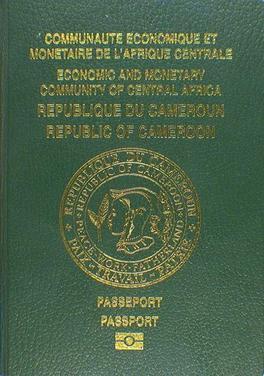 Cameroonian passport - Wikipedia