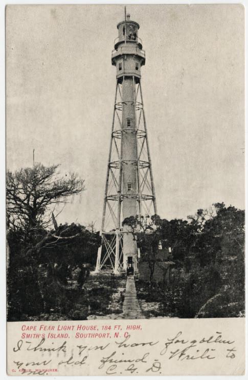 Cape Fear Light Wikipedia