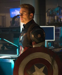 Chris Evans as Steve Rogers Captain America.jpg