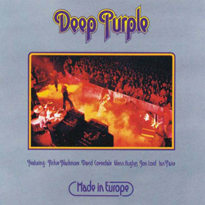 <i>Made in Europe</i> 1976 live album by Deep Purple