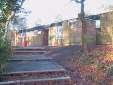The Old Edgbarrow Sixth Form Centre (Now Hill Block)