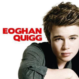 <i>Eoghan Quigg</i> (album) 2009 studio album by Eoghan Quigg