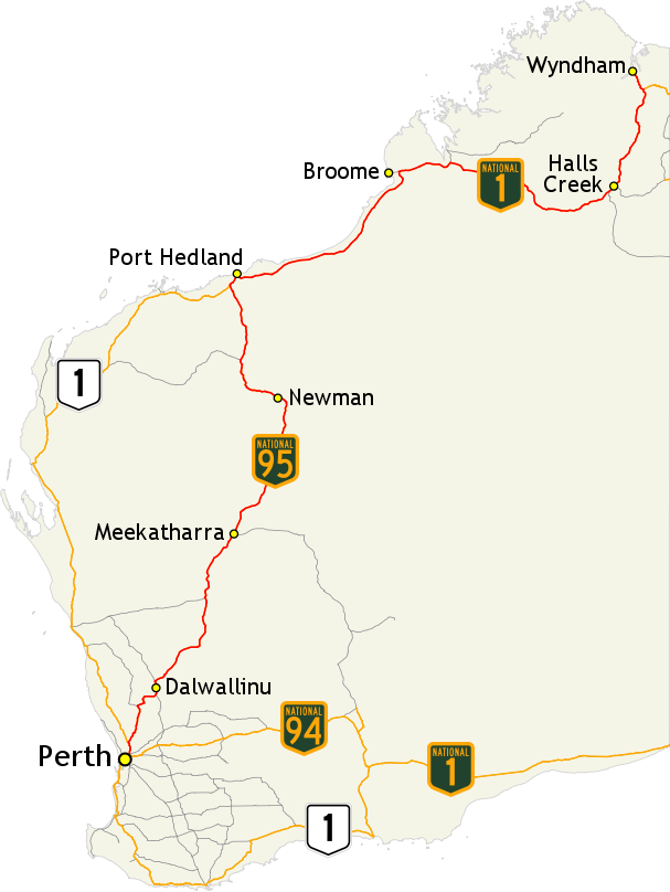 Great Northern Highway - Wikipedia