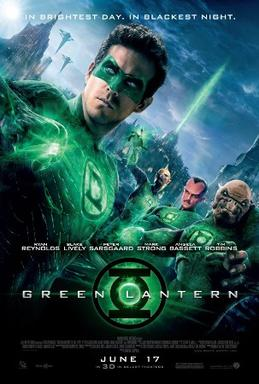 Green Lantern (2011) movie poster