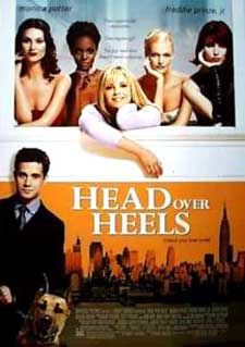 <i>Head over Heels</i> (2001 film) 2001 American romantic comedy film by Mark Waters