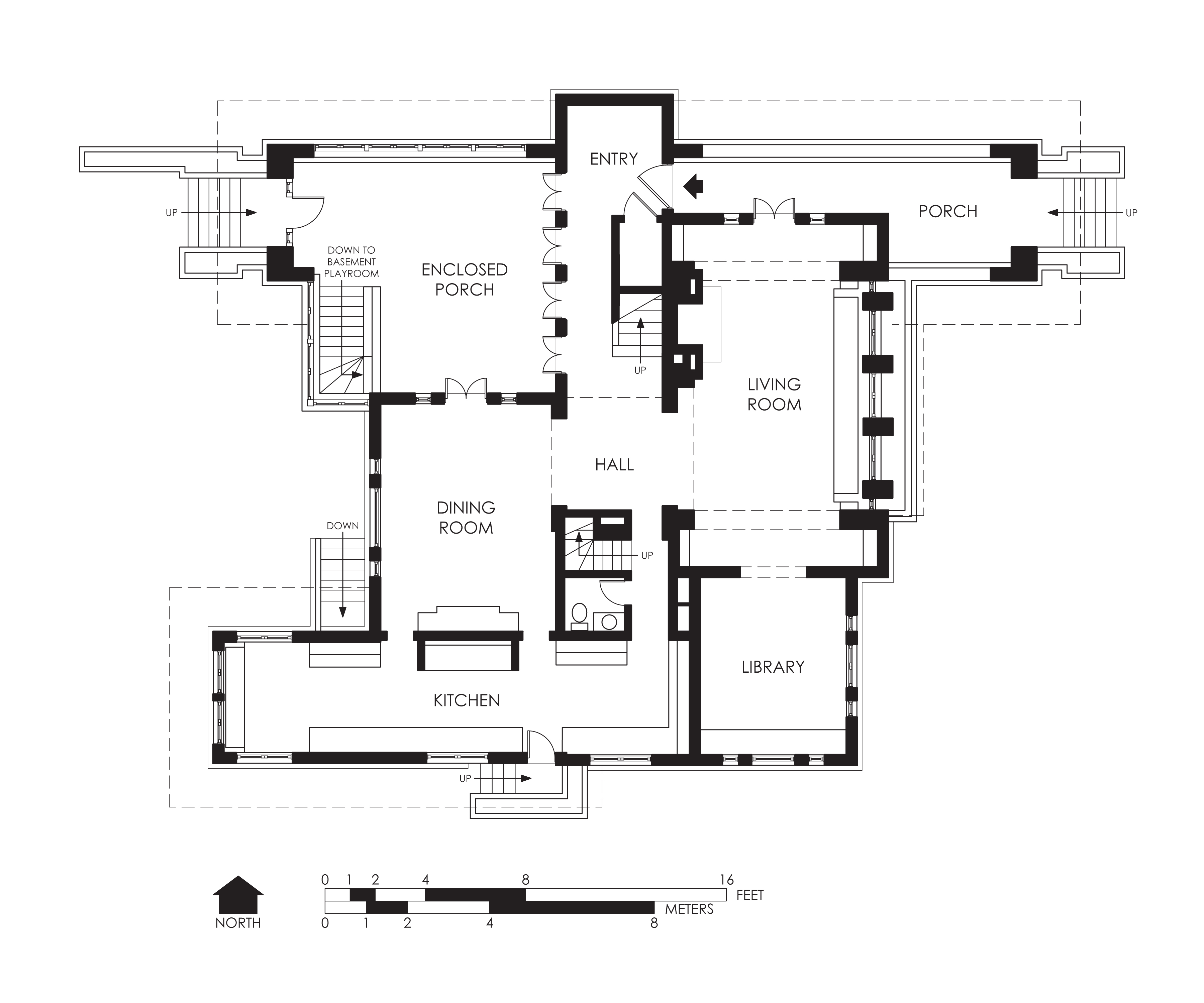 File hills decaro house first floor wikipedia Program for floor plans