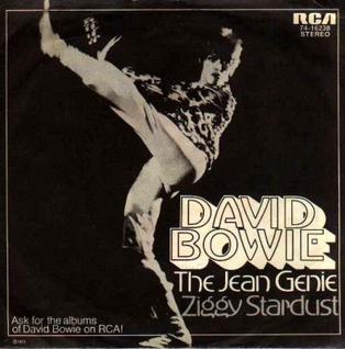 Titelbild des Gesangs The Jean Genie von David Bowie