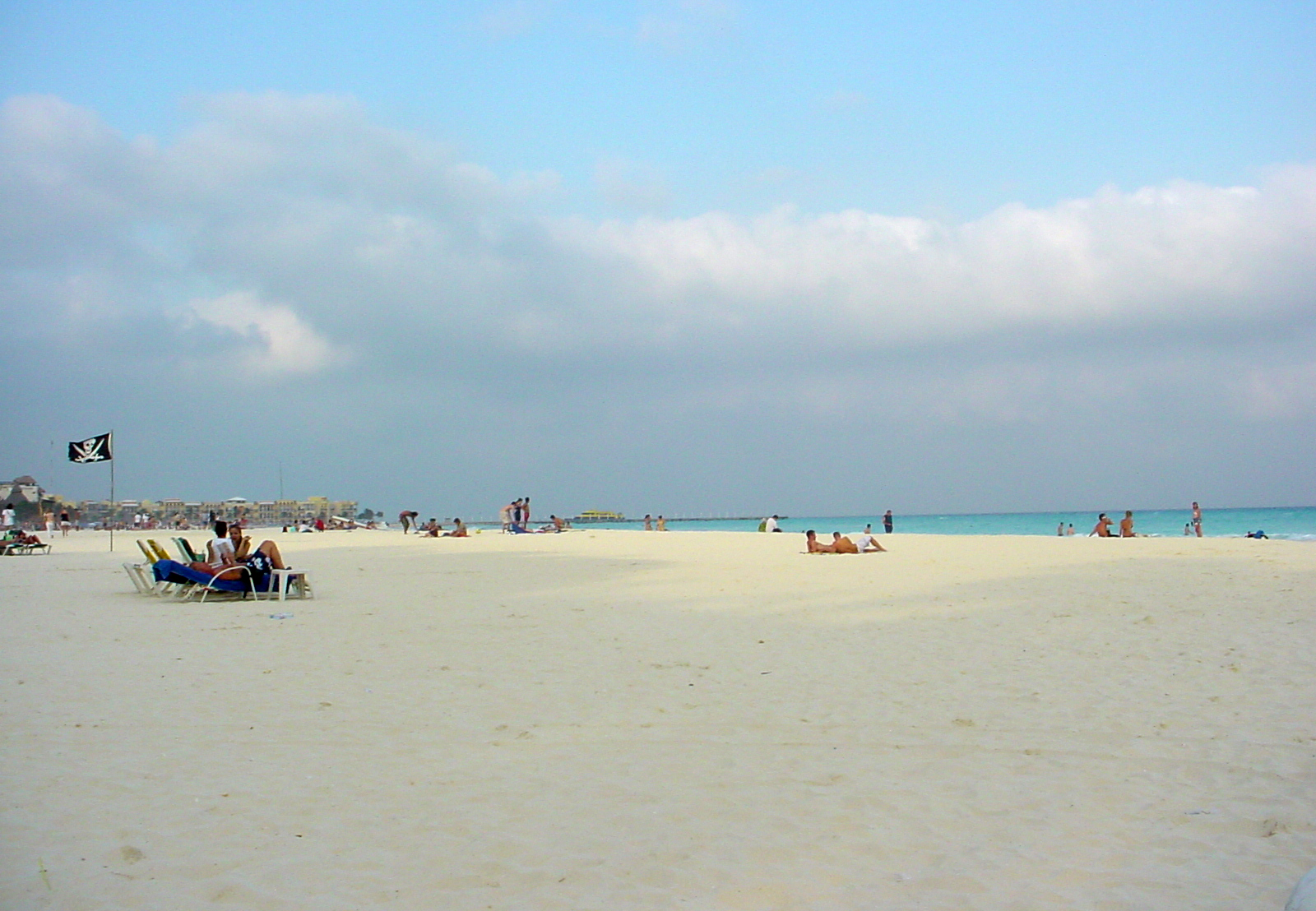 Ciudad Del Carmen Beach Playa Del Carmen Central Beach