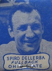 Spiro Dellerba headshot on a matchbook from the early 1940s