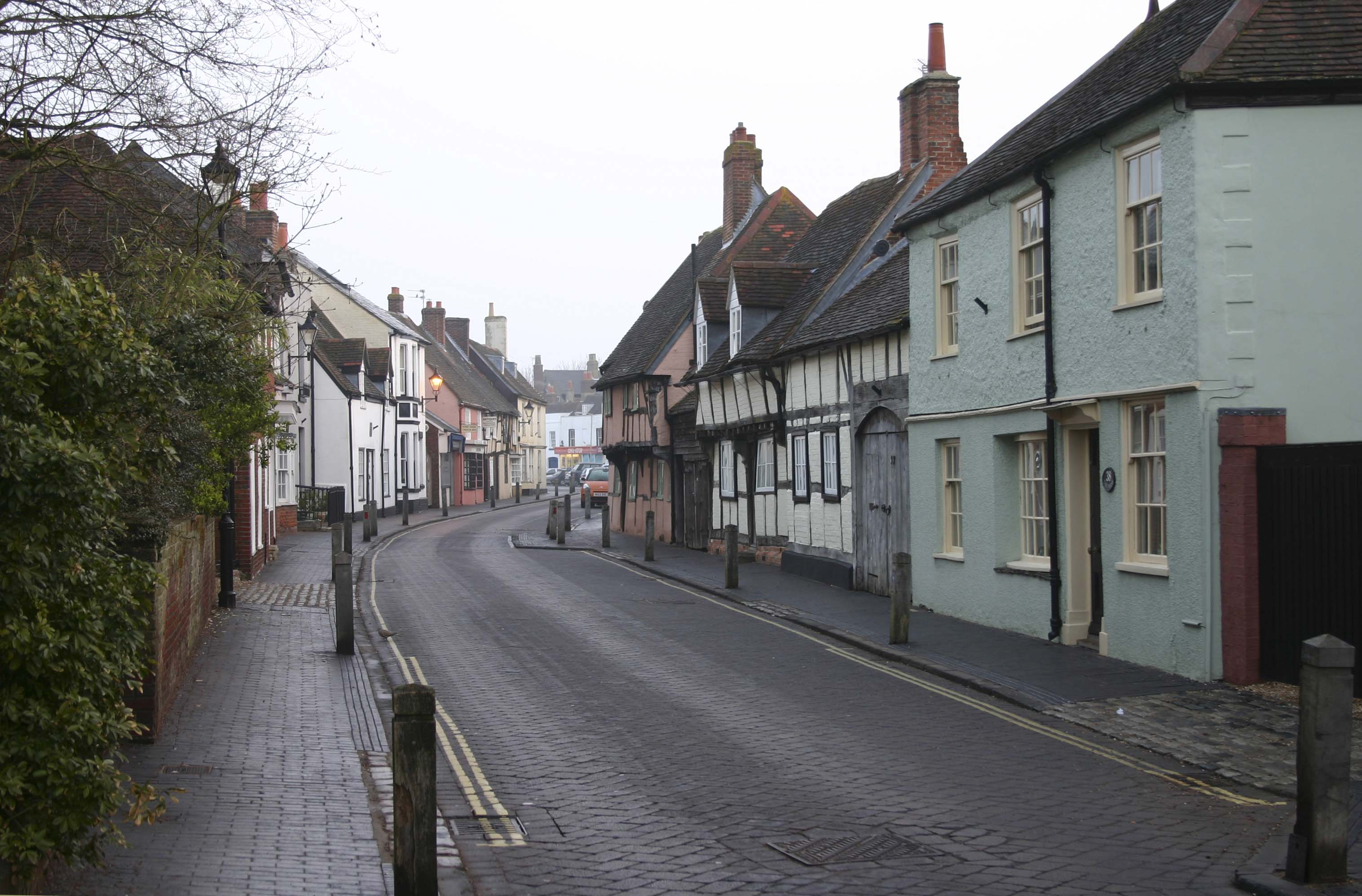 Titchfield South Street - THE MOST BEAUTIFUL ENGLISH VILLAGES PICTURES STUNNING ENGLISH COUNTRY TOWNS IMAGES