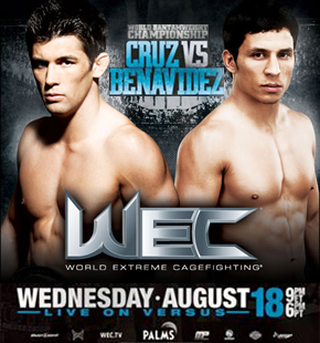 WEC 50 WEC MMA event in 2010