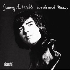 <i>Words and Music</i> (Jimmy Webb album) 1970 studio album by Jimmy Webb
