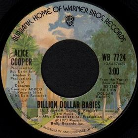 Billion Dollar Babies (song) 1973 single by Alice Cooper featuring Donovan