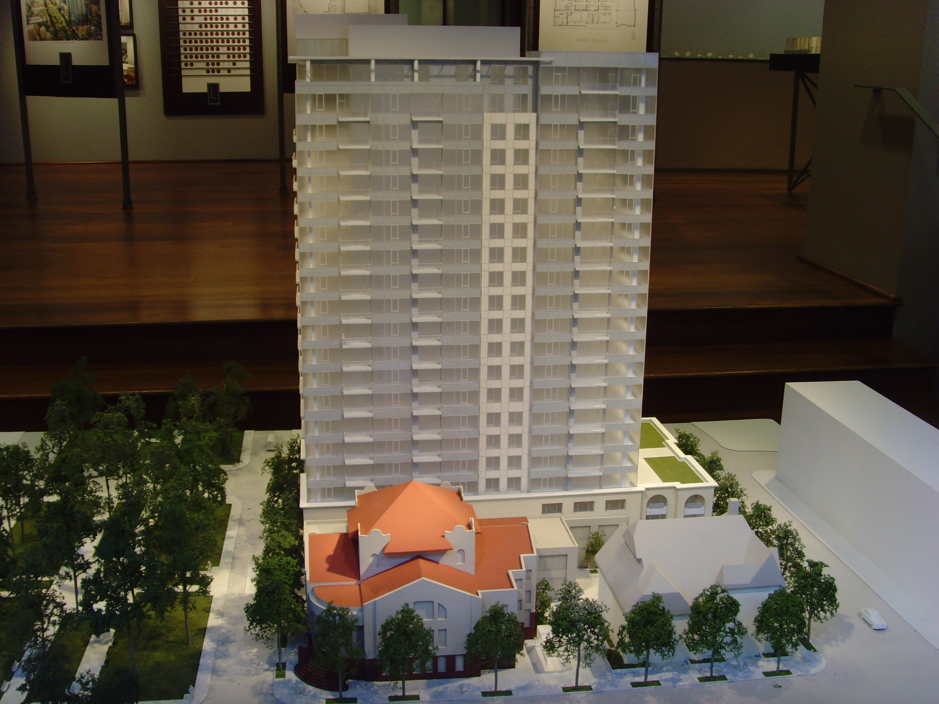 Bon An Architectural Model Promoting A Highrise Condominium