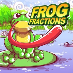 Picture of a game: Frog Fractions