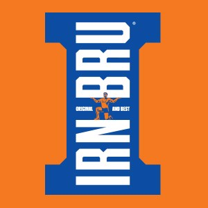 Irn-Bru Scottish carbonated soft drink