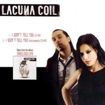 Cubra la imagen de la canción I Wont Tell You por Lacuna Coil