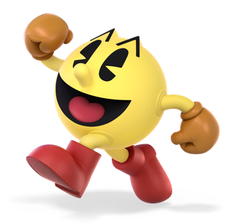 Pac-Man (character) protagonist character of the franchise of the same name by Namco