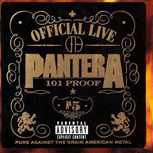 <i>Official Live: 101 Proof</i> 1997 live album by Pantera