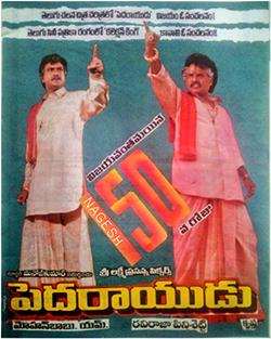 <i>Pedarayudu</i> 1995 Indian film directed by Ravi Raja Pinisetty