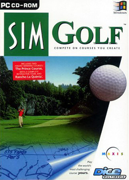"""SimGolf"" Cover Art"