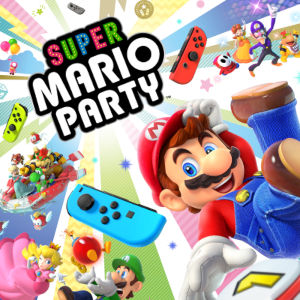 <i>Super Mario Party</i> 2018 party video game for the Nintendo Switch