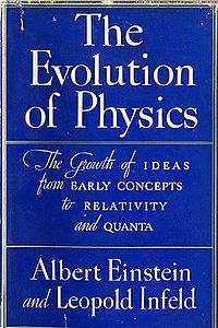 <i>The Evolution of Physics</i> book by Albert Einstein and Leopold Infeld