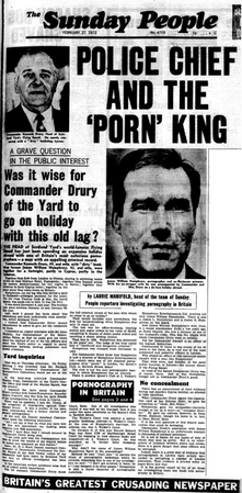 Front cover of The Sunday People, 27 February 1972 The Sunday People, 27 February 1972.png