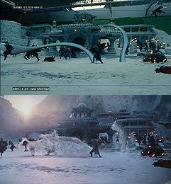 The Last Airbender Wikipedia - 27 incredible before and after shots of visual effects in film