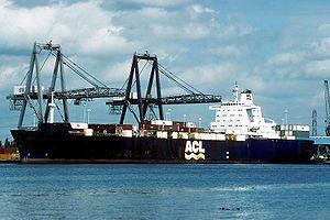 SS <i>Atlantic Causeway</i> British merchant navy ship
