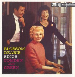 Blossom Dearie Sings Comden And Green Wikipedia