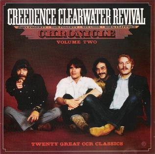 <i>Chronicle, Vol. 2</i> 1986 greatest hits album by Creedence Clearwater Revival