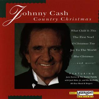 <i>Johnny Cash Country Christmas</i> 1991 Johnny Cash Christmas album