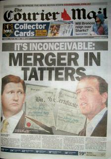 daily tabloid newspaper published in Brisbane