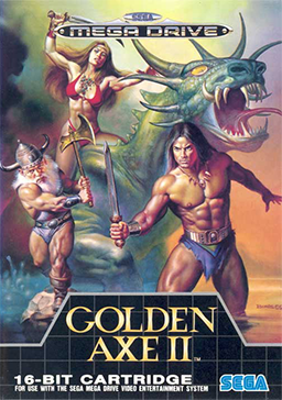 Picture of a game: Golden Axe 2