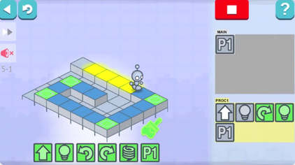 Picture of a game: Lightbot