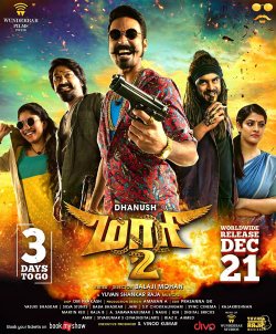 Maari 2 (2018) Dual Audio 720p UNCUT HDRip [Hindi + Telugu] ESubs
