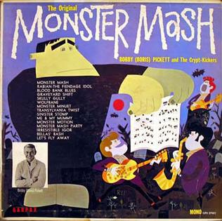 Boris Pickett & the Crypt-Kickers- The Monster Mash