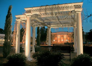 File:Pergola in front of Peterson Hall, South Georgia ...