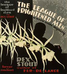 <i>The League of Frightened Men</i> novel by Rex Stout