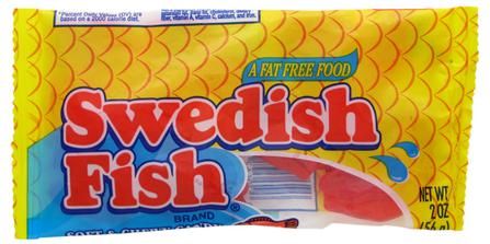 Most popular halloween candy in each state for Who makes swedish fish