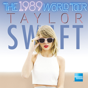The 1989 World Tour 2015 concert tour by Taylor Swift