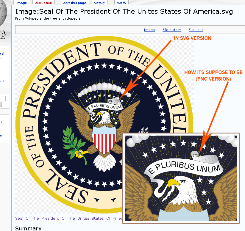 Fileus Presidential Seal Svg Vspng Wikipedia