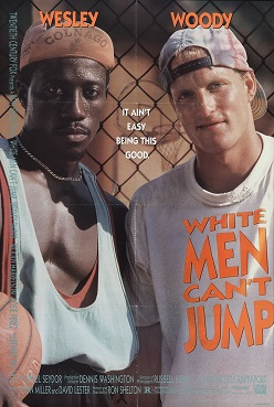Film poster for White Men Can't Jump - Copyrig...
