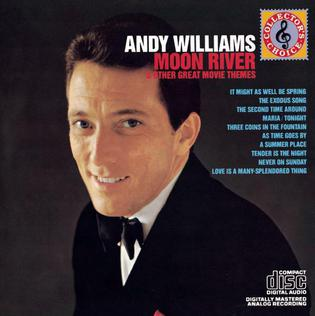 <i>Moon River and Other Great Movie Themes</i> 1962 studio album by Andy Williams