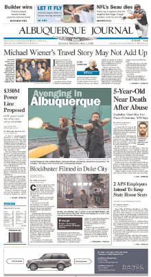 Albuquerque Journal front page.jpg