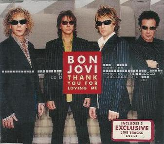 THANK YOU FOR LOVING ME Chords - Bon Jovi
