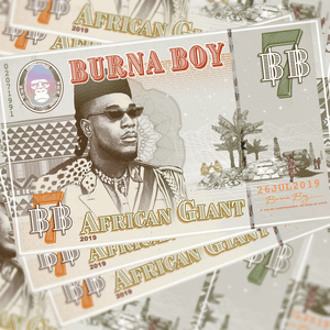 <i>African Giant</i> 2019 studio album by Burna Boy
