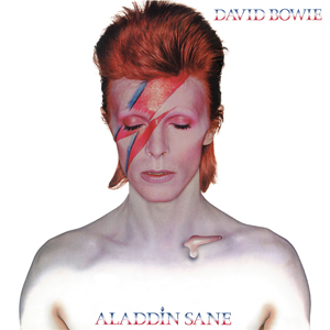 Image result for david bowie aladdin sane cover